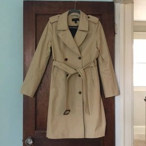JCrew Icon Trench, lined